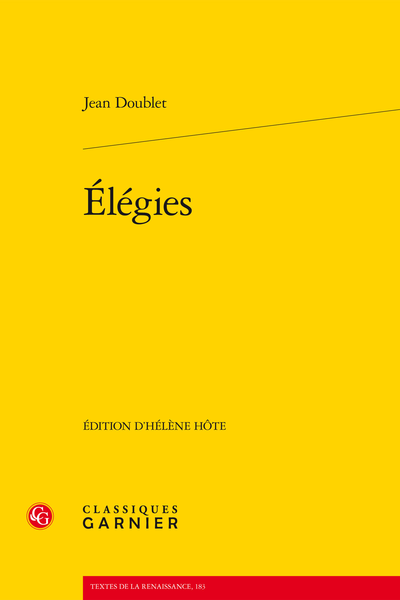 Élégies - Introduction