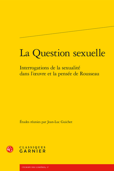 Women Writers Read Rousseau Sexual Politics in the Enlightenment
