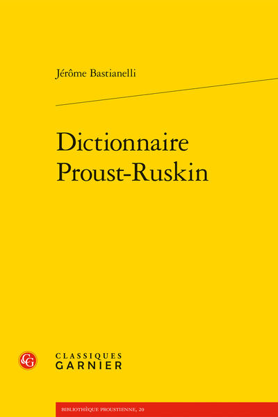 Dictionnaire Proust-Ruskin - F