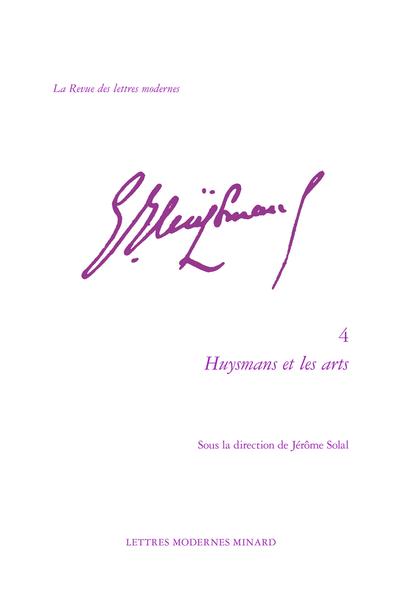 Huysmans et les arts - Avant-propos