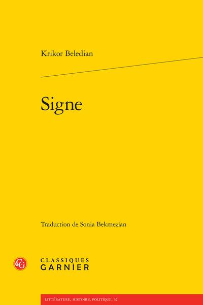 Signe - [Chapitre] 14
