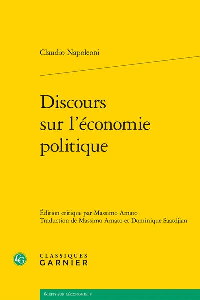 Discours sur l'économie politique - Réformisme et libération