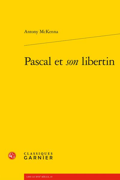 Pascal et son libertin