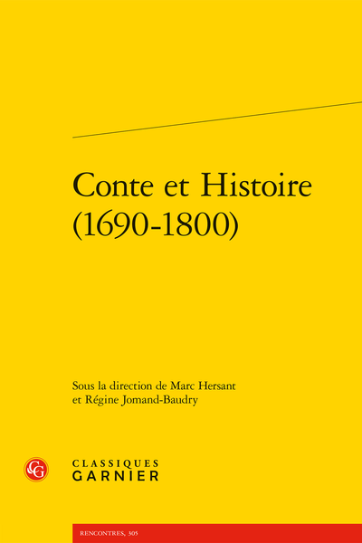 Conte et Histoire (1690-1800)