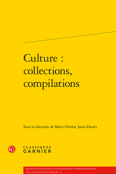 Culture : collections, compilations