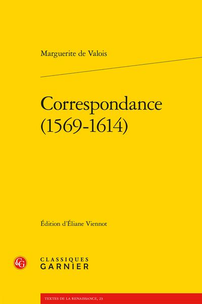 Correspondance (1569-1614)