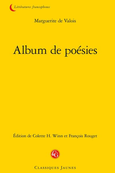 Album de poésies (Manuscrit français 25455 de la BNF)