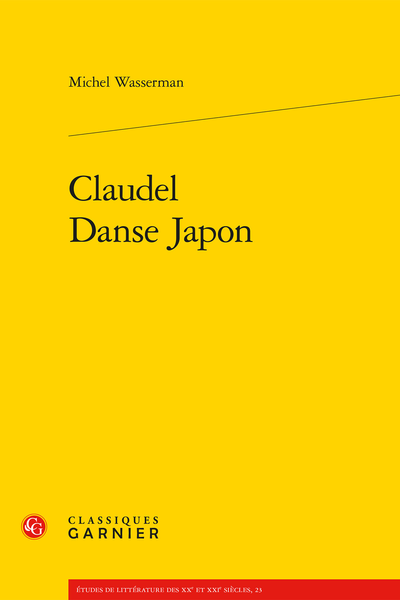 Claudel Danse Japon