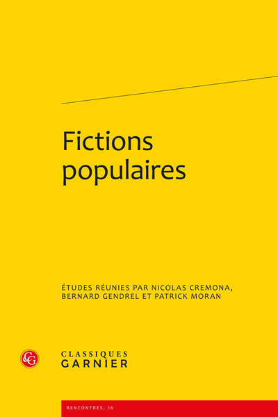 Fictions populaires - Index
