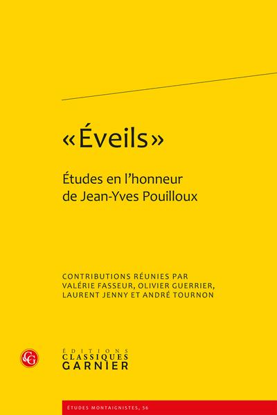 « Éveils ». Études en l'honneur de Jean-Yves Pouilloux - Index des auteurs