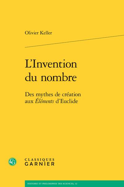 L'Invention du nombre. Des mythes de création aux Éléments d'Euclide - Index