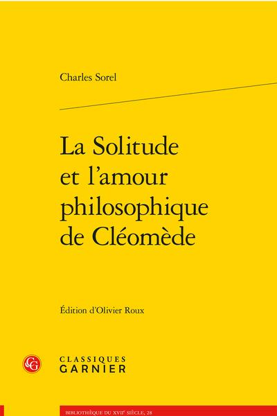 La Solitude et l'amour philosophique de Cléomède