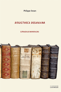 Bibliotheca Desaniana. Catalogue Montaigne