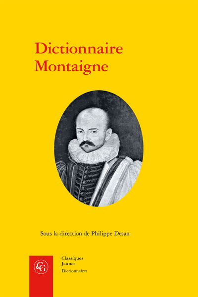 Dictionnaire Montaigne - Introduction