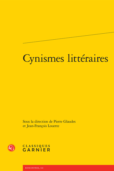 Cynismes littéraires - Diogène greluchon