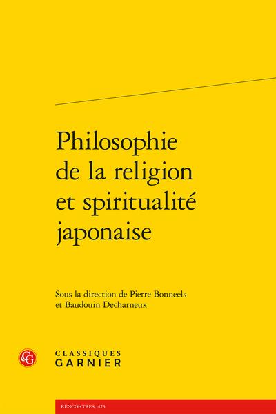 Philosophie de la religion et spiritualité japonaise
