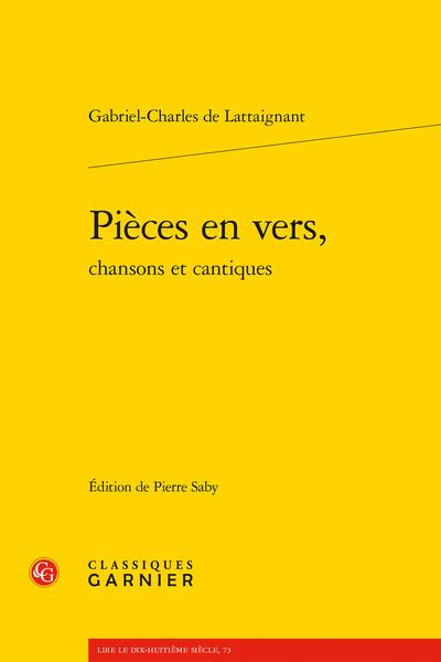 Pièces en vers, chansons et cantiques - Index des noms