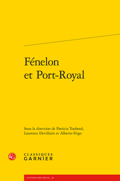 Fénelon et Port-Royal