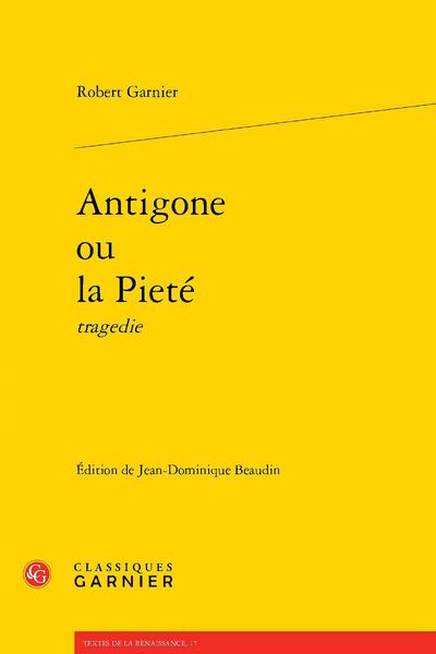 Antigone ou la Pieté tragedie