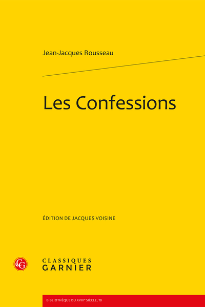 Les Confessions - Introduction