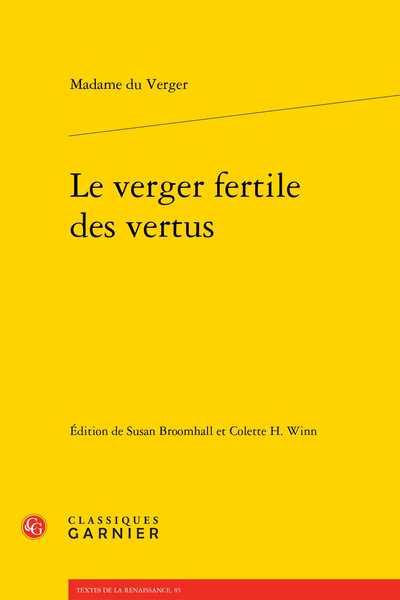Le verger fertile des vertus