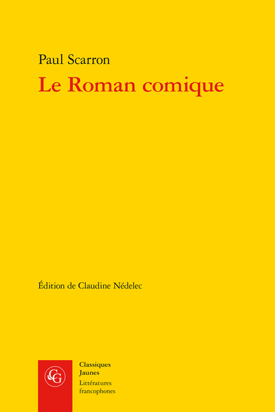 Le Roman comique - Index
