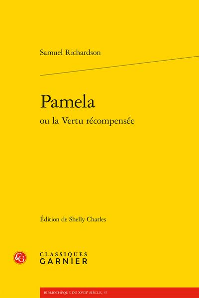 Pamela ou la Vertu récompensée