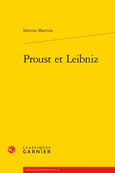 Proust leibnizien ?