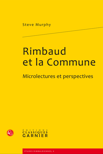 Rimbaud et la Commune. Microlectures et perspectives