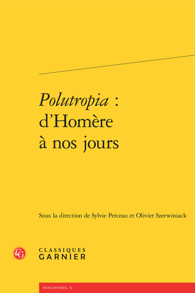 Polutropia : d'Homère à nos jours - Introduction