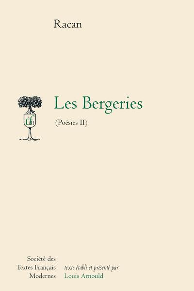 Poésies - Tome II: Les Bergeries