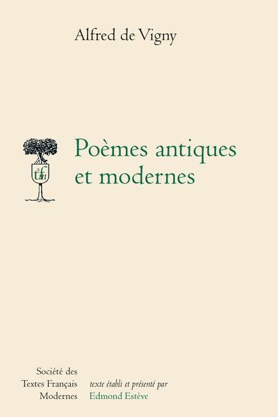 Poèmes antiques et modernes