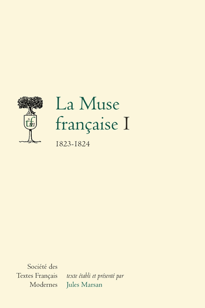 La Muse française. I. 1823-1824