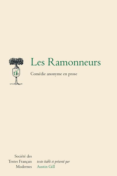 Les Ramonneurs. Comédie anonyme en prose