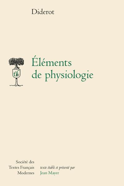 Éléments de physiologie