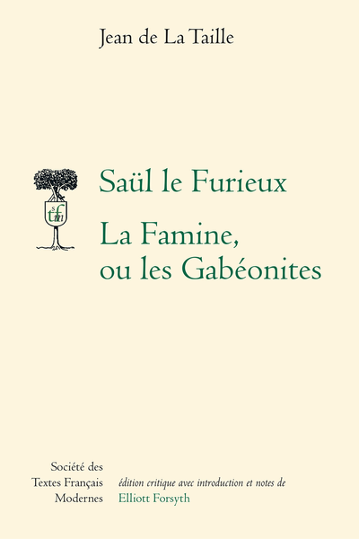 Saül le Furieux. La Famine ou les Gabéonites