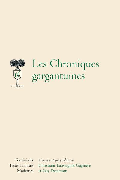 Les Chroniques Gargantuines