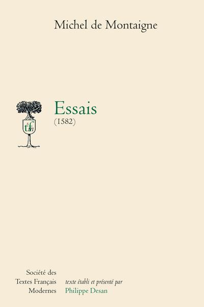Essais (1582)