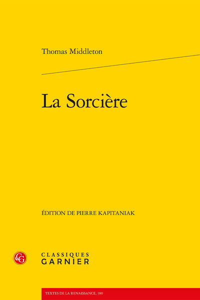 La Sorcière - Introduction