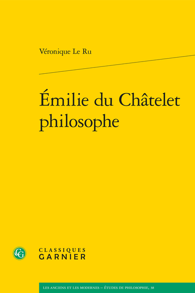 Émilie du Châtelet philosophe