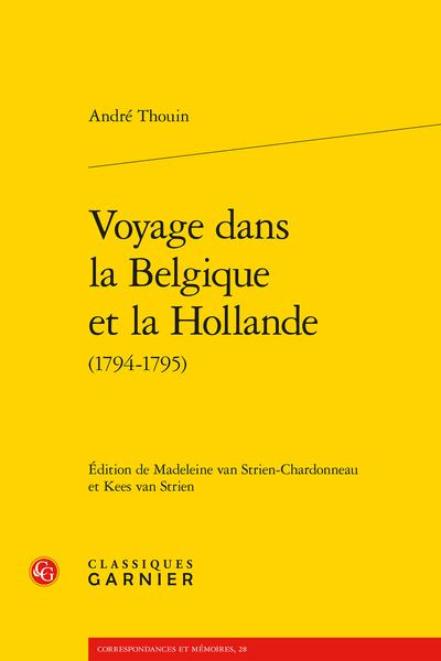 Voyage dans la Belgique et la Hollande (1794-1795) - Annexe III