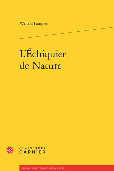L'Échiquier de Nature