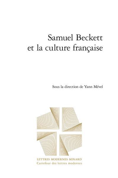 Samuel Beckett et la culture française